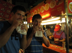 A Tasty delicacy at the Night market